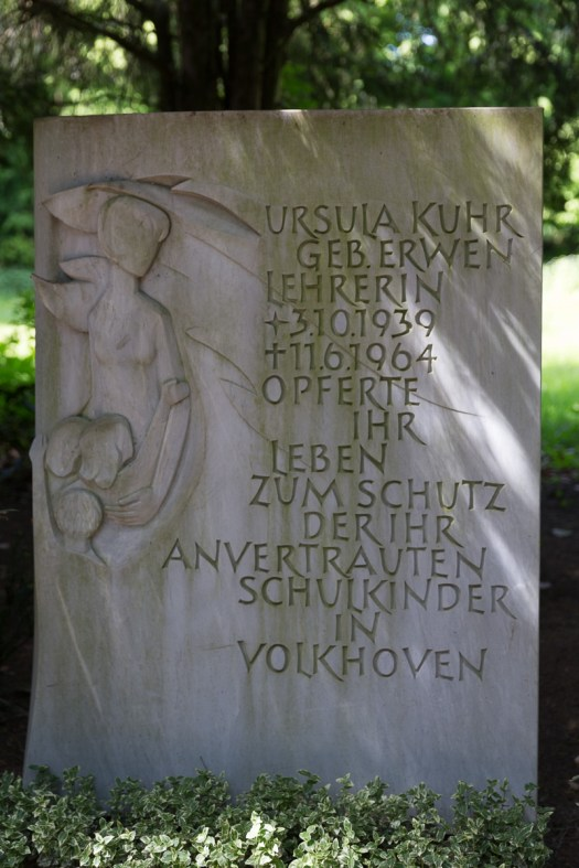 Grabstätte Ursula Kuhr auf dem Südfriedhof, Bild: Thomas Salditt