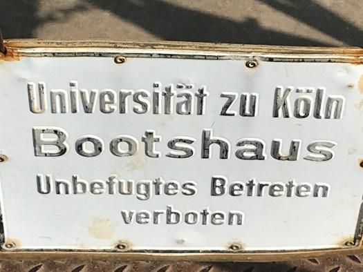 """Nur für Wissenschaftler & Sportler: Das Bootshaus der Uni Köln"""", Bild: Uli Kievernagel"""