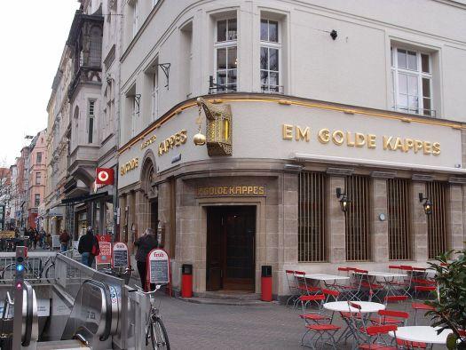 """""""Em Golde Kappes"""" in Nippes - eines der Lieblingsbrauhäuser von Boris Sieverts, Bild: M. Pfeiffer"""