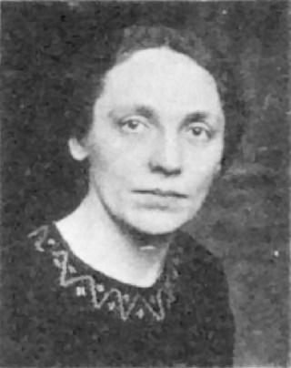 Eine Aufnahme von Marie Juchacz aus dem Jahr 1919
