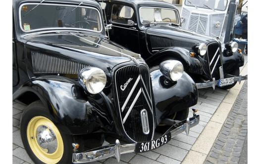 """Der als """"Gangsterlimousine"""" bekannte Citroën Traction Avant wurde wegen seiner kölschen Herkunft auch """"Poller"""" genannt, Bild: Franz-Josef Knöchel"""