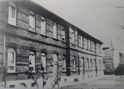 Die Siedlung Wilhelmsruh um ca. 1920, Bild: Klaus Krämer
