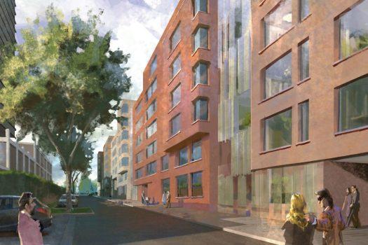 Zukünftige Wohnbebauung auf dem Welle-Areal, Bild: Bauwens