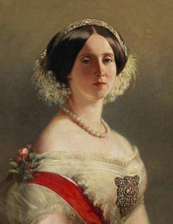 Stifterin des Petrusbrunnens: Die Kaiserin und Königin von Preußen Augusta, Bild: Franz Xaver Winterhalter