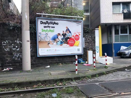 An allen Ecken & Enden Knüsel, hier: Richard-Wagner-Straße, Bild: @wirliebenunserestadt