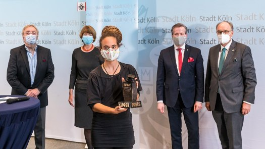 Verleihung Karl-Küpper-Preis an Carola Rackete, Bild: Raimond Spekking