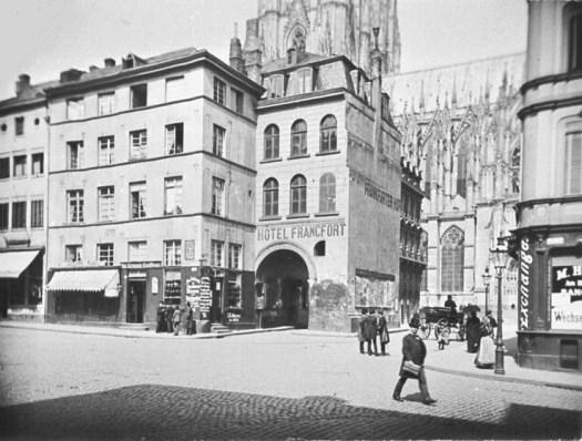 Die Hachpforte um 1890, Bild: Rheinisches Bildarchiv Köln