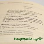 """Foto zu """"Hauptsache Lyrik!"""" von Christian Baller"""