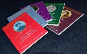 """Mein Bücherpaket mit """"jüdischen Miniaturen"""" vom Duftenden Doppelpunkt"""