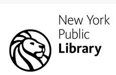 So sieht das Logo der Public Library aus - der Löwe hängt dann auch als Erkennungszeichen auf Fahnen vor den Zweigstellen.