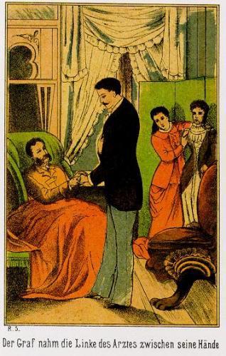 Eine erste Etappe: Sternau hat  den Grafen Emanuel von seiner Blindheit befreit - und nun gehts erst richtig los