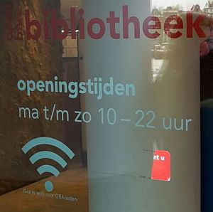OBA Amsterdam Öffnungszeiten