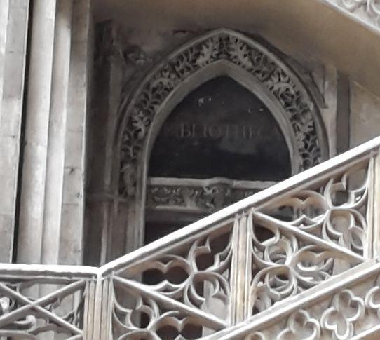 Kathedrale Rouen, Bibliothekstür
