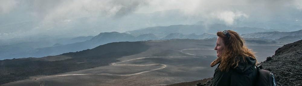 Anke op de Etna