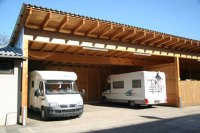 Carport aus Holz - Planen, Bauen, Montagebaustze vom ...
