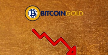 Bitcoin Gold Omlaag
