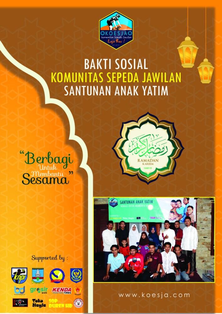 Proposal Bakti Sosial Komunitas Sepeda Jawilan Santunan Anak Yatim 2019 Ramadhan 1440 H Koesja