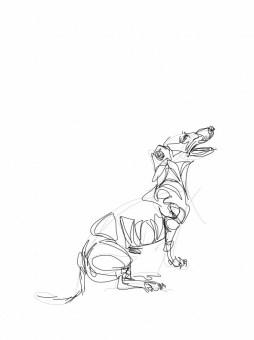 Dachshund, Teckel| Digital drawing, print available A4