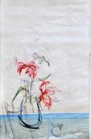 Flowers Sail Blue Chair
