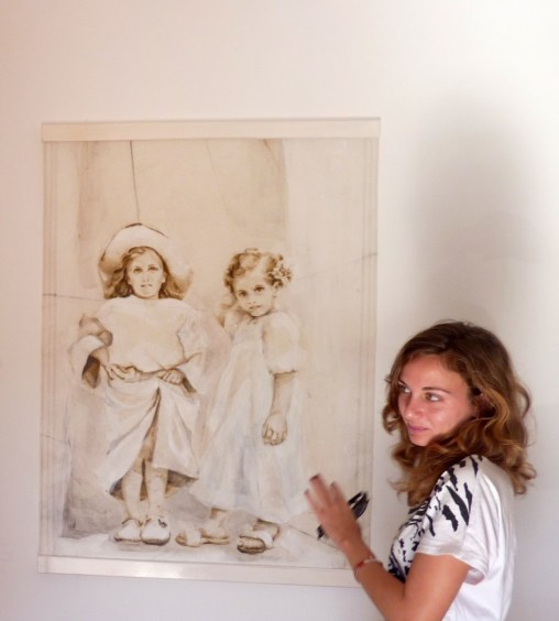 Maria with Painting