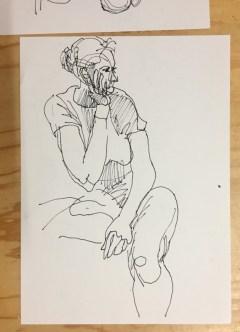 Model Dana |Schetsen Huub