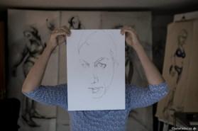 """Portrait of the Artist"" Inge Koetzier van Hooff"