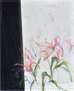 Twin flowers, lilies