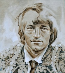 Jan Peters AZ as Torero | Acrylic on linnen canvas| 70x80 cm