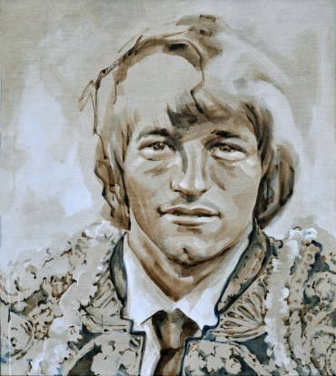 Jan Peters AZ as Torero | Acrylic on linnen canvas| 70x80 cm