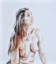 Aurora | Acrylic on wooden panel | 70x80 cm