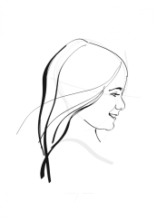 Oli   portrait commission   digital drawing