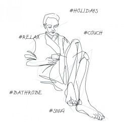 #relax   digital drawing   illustration