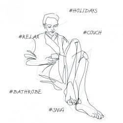 #relax | digital drawing | illustration