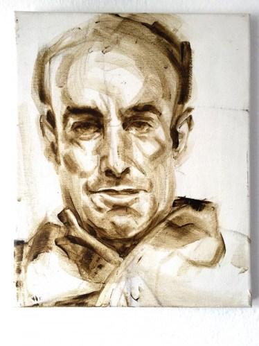 Cesar Manrique | Acrylic on canvas | 24x30 cm