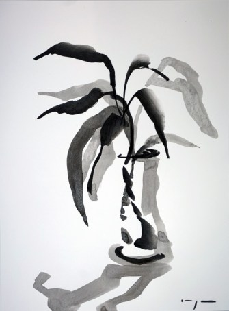 Dutch Art China | Lucky Bamboo 01|Ink on paper | A3