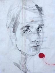 Jett Rebel |Acrylic on sailcloth | 30 x 42 cm