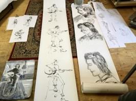 Modeltekenen |Drawing 3-2-18 Sem