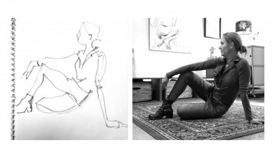 Model Drawing Cecile