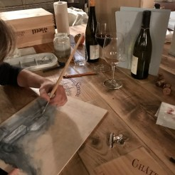 Wijn - Schilderen - Workshop - Wine - Art