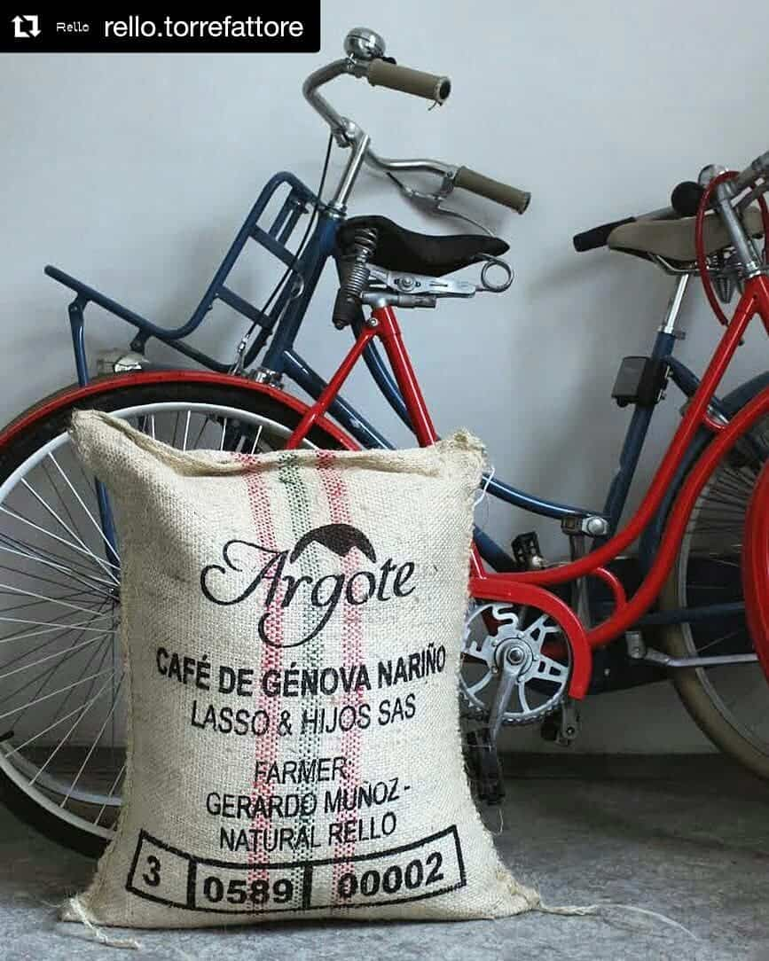 Argote Coffee met Fiets
