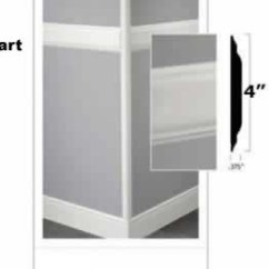 Johnsonite Chair Rail Used Lifts Millwork Ideas Large Image 5