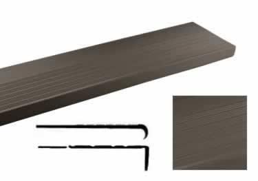 johnsonite chair rail grey leather covers safe t rib vinyl stair treads