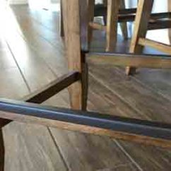 Bar Stool Chair Rung Protectors Target Rocking Covers Foot Rail Large Image 5