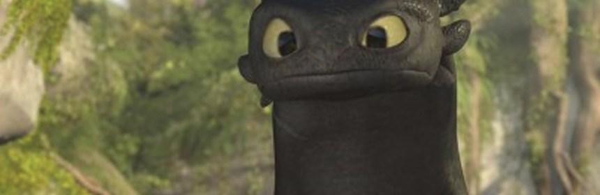 Fie og Toothless