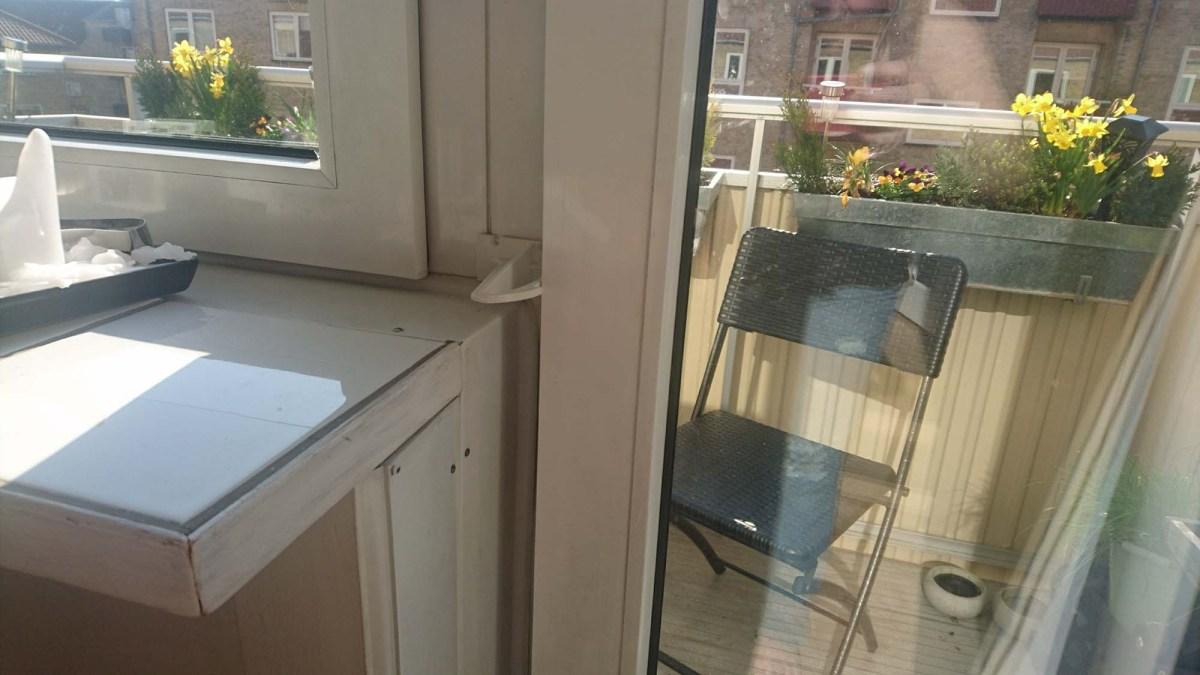 Nem kattesikring af indadgående altandør