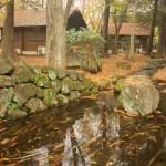 (ネーブルパーク)園内の小川とキャビン