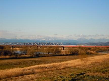 南側からの三国橋