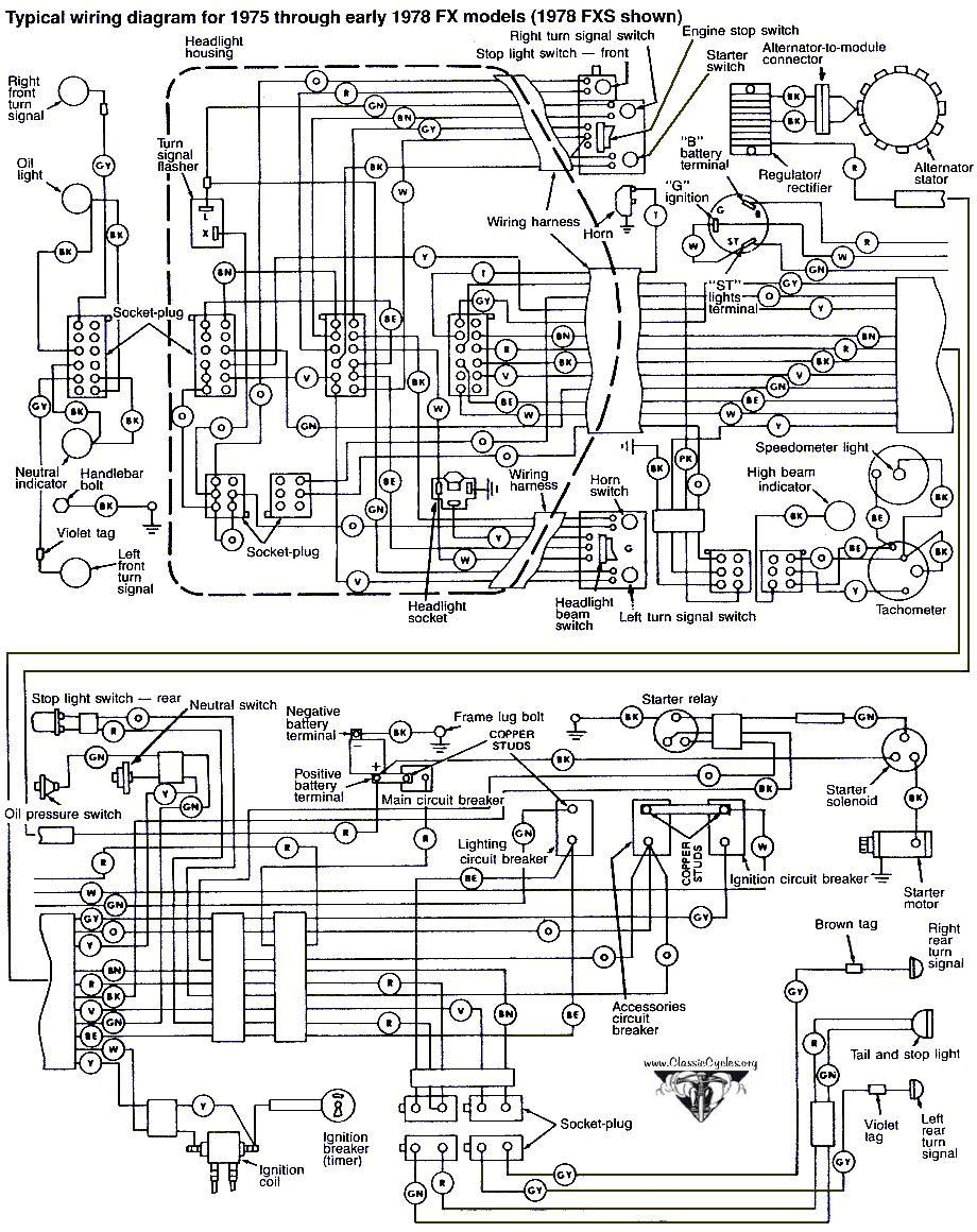 Harley Davidson 1997 Fxd Wiring Diagram Manual Harley