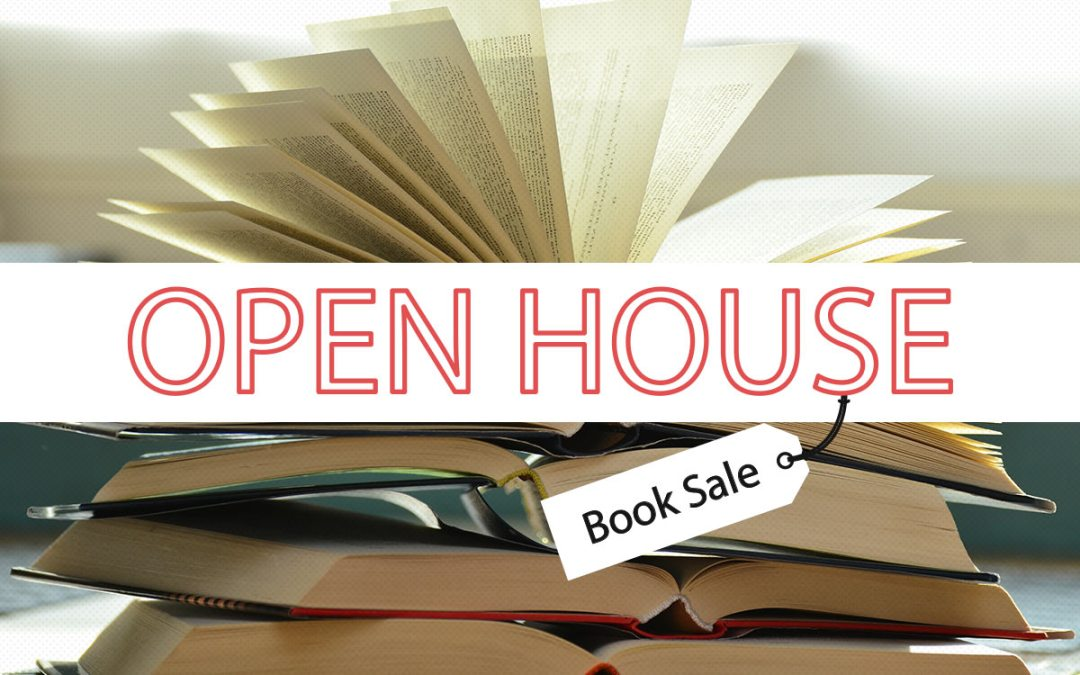 Spectacular Book Sale and Open House