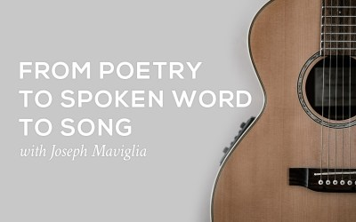 From Poetry to Spoken Word to Song